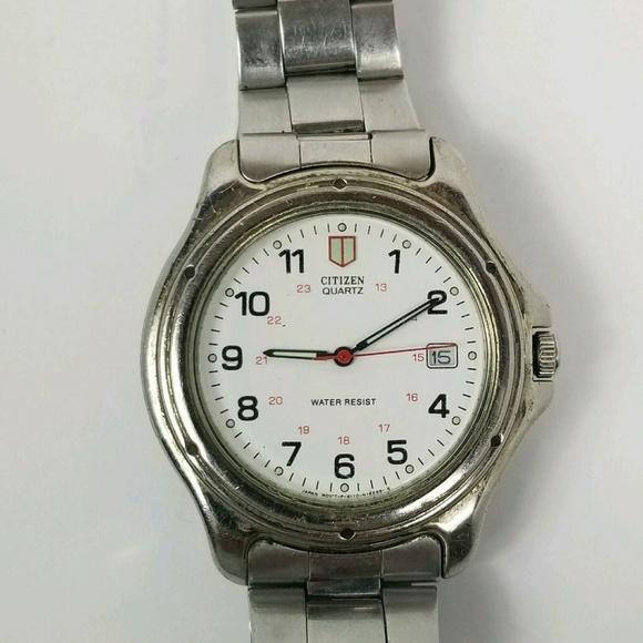 Citizen Other - Citizen Quartz Water Resist 6110 Vtg Wrist Watch